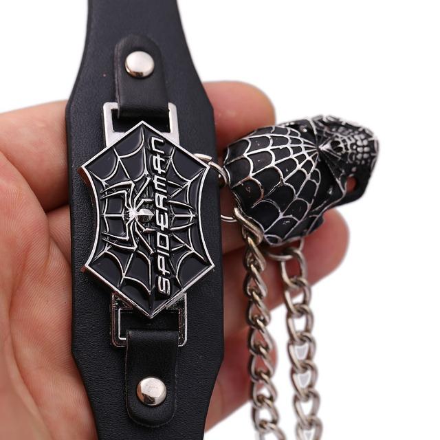 Spider Man Leather Bracelet for Men & Women