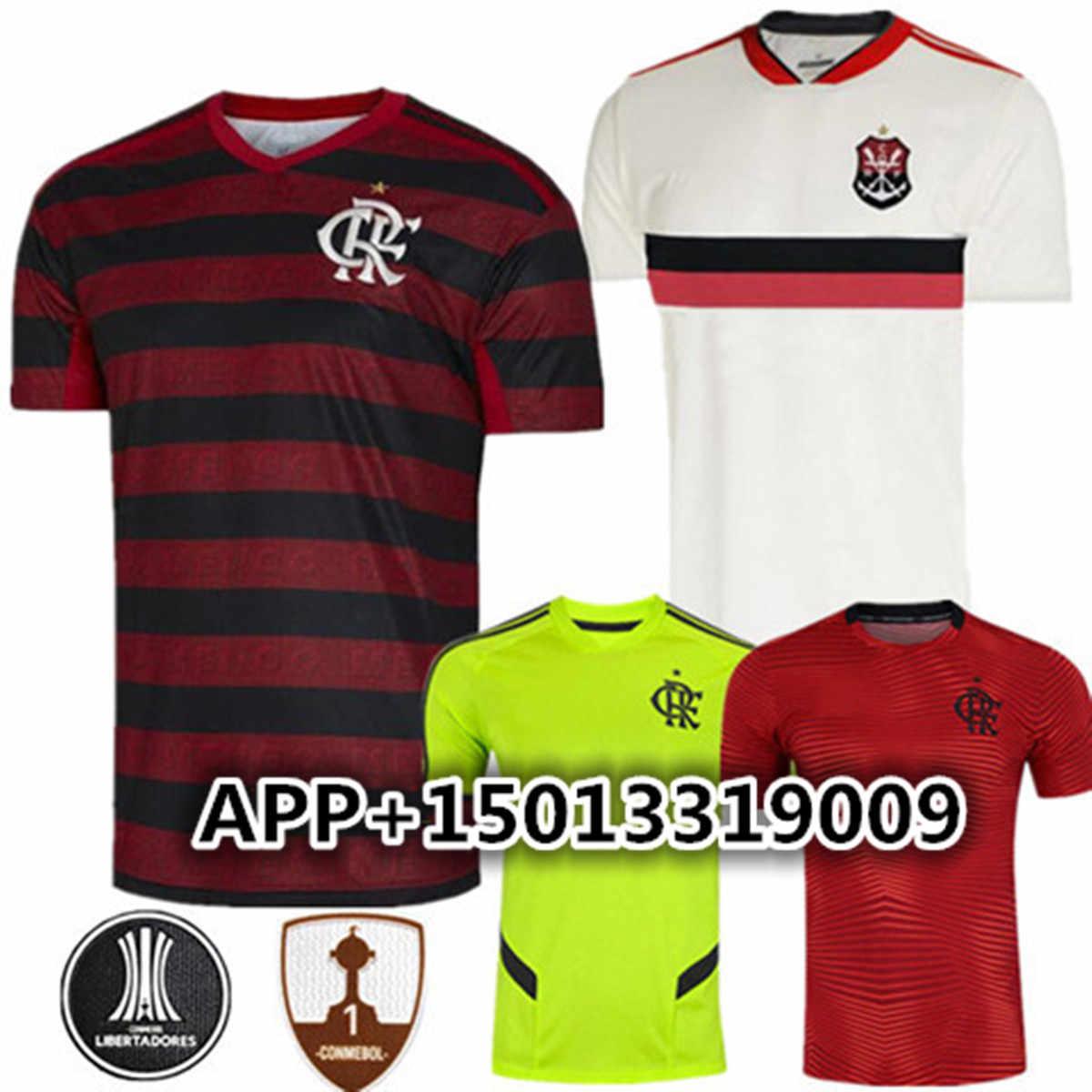 b7a0e700c 2019 flamengo camisa de futebol adultos 19 20 camisas dos homens Top  Qualidade Brasil Flamengo DIEGO