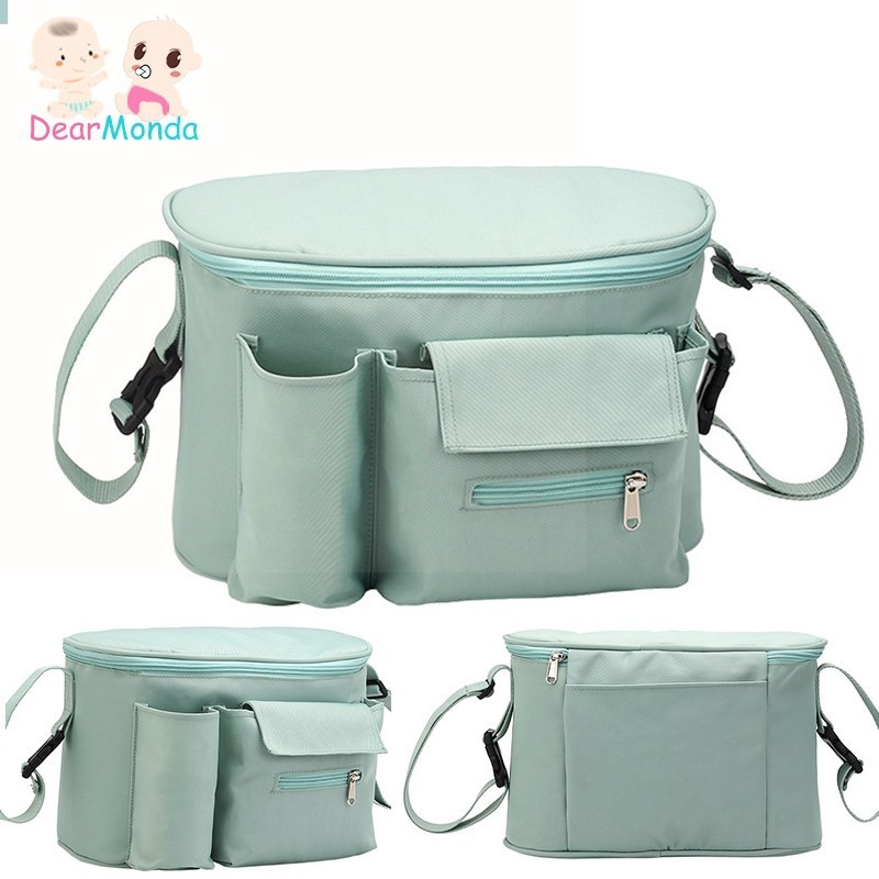 DEARMONDA Diaper Baby Stroller Organizer Hanging Nappy Bag Mummy Maternity Bag Travel Backpack Baby Care Stroller Bottle Bags