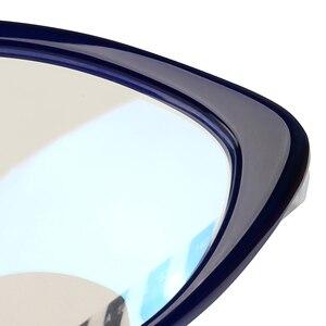 Image 5 - Gafas de acetato hechas a mano para ordenador, lentes antirayos azules para chicas jóvenes, lentes de ordenador, 2018