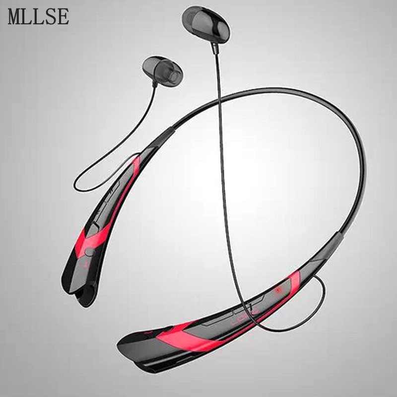 MLLSE Anime Hatsune Miku Neckband Bluetooth Headphone Earphones Wireless Stereo Sport Handfree Headset for Iphone Samsung Xiaomi bluetooth earphone headphone for iphone samsung xiaomi fone de ouvido qkz qg8 bluetooth headset sport wireless hifi music stereo