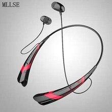 MLLSE Anime Hatsune Miku Banda Para El Cuello Auriculares Bluetooth Auriculares Inalámbricos Estéreo Deporte Auricular Manos Libres para El Iphone Samsung Xiaomi