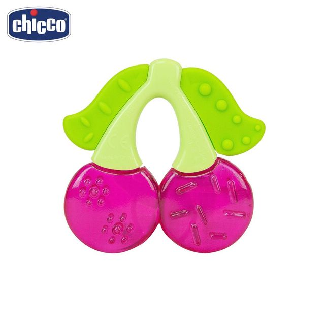 "Прорезыватель-игрушка Chicco Fresh Relax ""Вишня"",4 мес.+"
