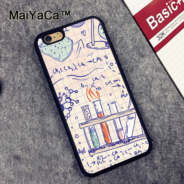 Maiyaca Science Scientist Lab Doctor New Phone Case For Iphone 6 6s Fundas Case For Iphone 6 6s Coque Fitted Case Back Cover Phone Bags & Cases