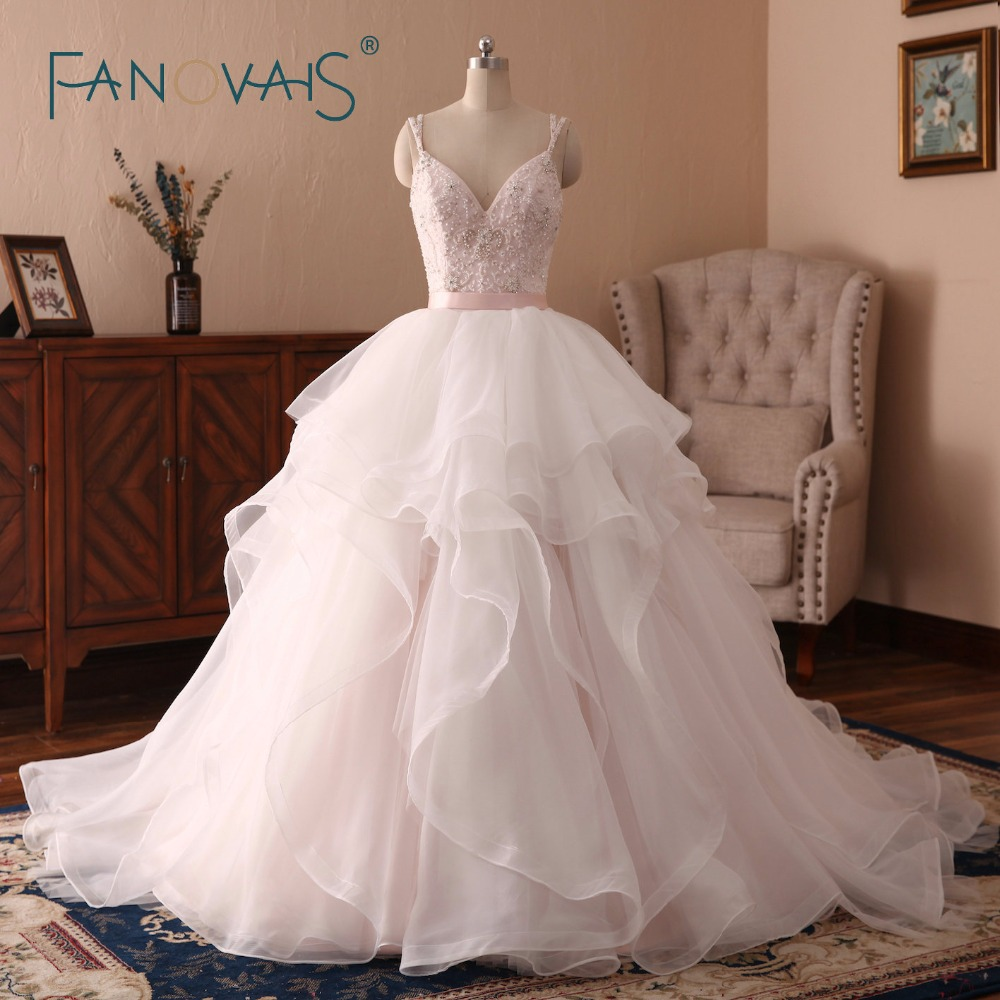 Wedding Gowns In Pink: Aliexpress.com : Buy Light Pink Wedding Dresses Princess