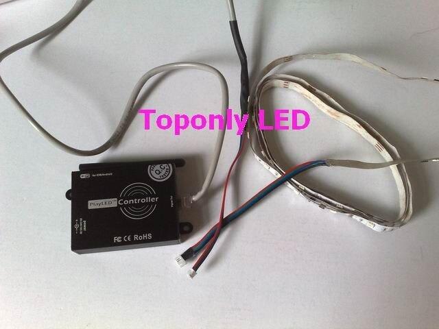 DC5-24V 100 W Jouer LED APPLICATION RVB WIFI LED de contrôle Pour LPD1109 6803 8803 WS2801 SM16716 TM1803 1809 LED Numérique Chasse Ruban 50 p - 6