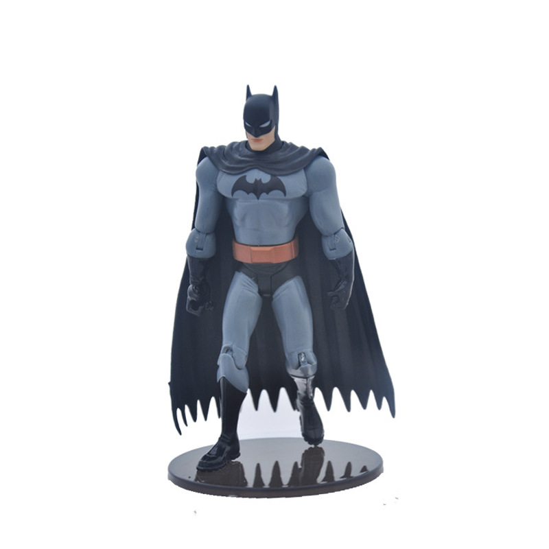 DC Super Heros Justice League The Dark Night Batman PVC Action Figures Collectible Model Kids Toys Doll 18cm