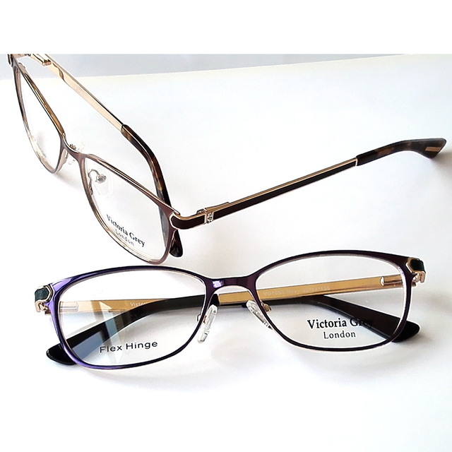 2016 New arriving Fashion Metal myopia glasses frame lady reading optical eyeglasses frames with diamond women Gafas Oculos