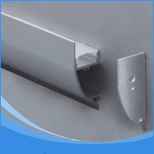 Image 1 - 10 PCS 1 m lengte van Aluminium LED Profiel Item Geen. LA LP43 wandmontage LED Profiel geschikt voor LED strips tot 12mm breedte