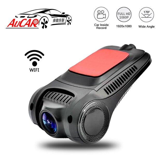 Car DVR Wifi Camera Digital Video Recorder Mini Dash Cam Image Video Recorder Full HD 1080P Dual Lens DVR G sensor