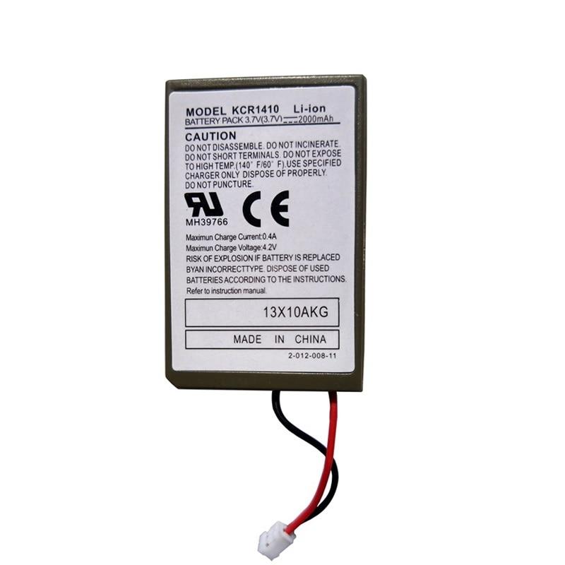 3.7 V 2000 mAh batería para Sony ps4 GamePad controlador inalámbrico li-ion recargable de litio Baterías reemplazo modelo kcr1410