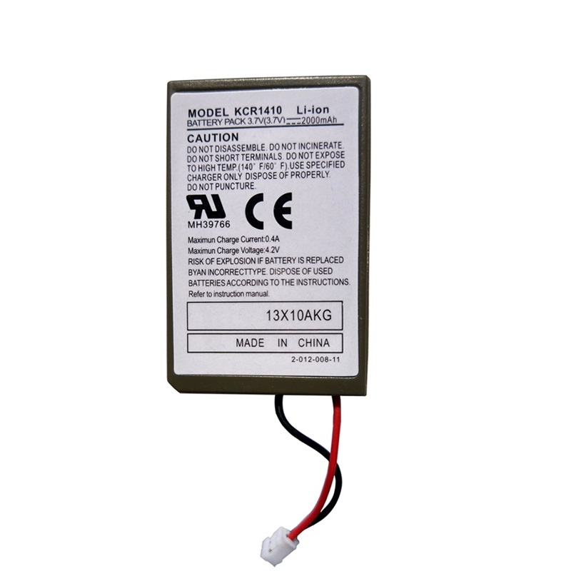 3.7V 2000mAh Battery Pack for Sony PS4 Wireless Controller Gamepad Li-Ion Lithium Chargeable Batteries Replacement Model KCR1410