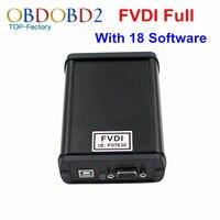 2017 Beste Kwaliteit FVDI Volledige Versie ABRITES Volledige Commander FVDI 18 Software Activated Diagnostische Scanner In Voorraad DHL Gratis