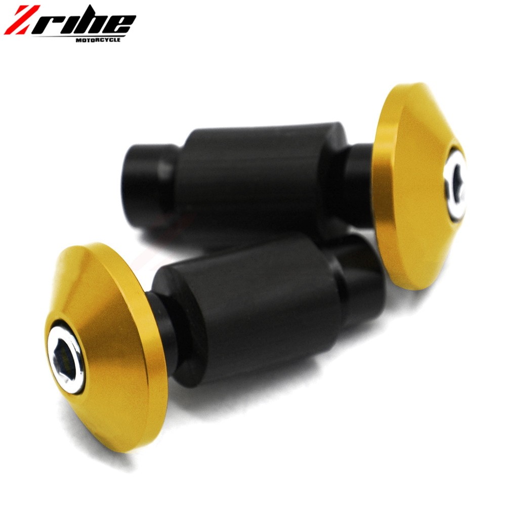 22mm 7/8 Motorcycle Aluminum Handlebar Grips Bar Ends Sliders For Ducati 900 SS 916 Biposto 996 Biposto 998 999 1098 S 1198