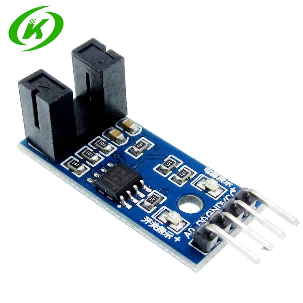10pcs IR Infrared Slotted Optical Speed Measuring Sensor Optocoupler Module For Motor Test PIC AVR