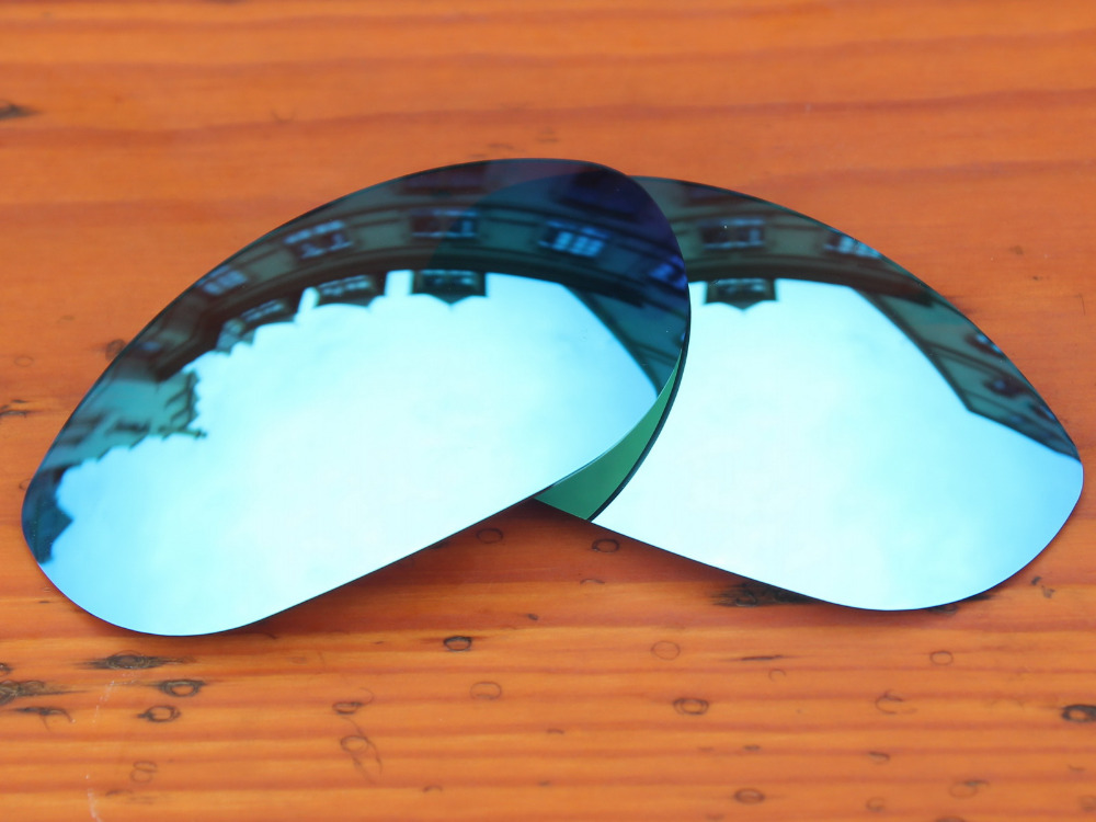 Glace Bleu Miroir Polarisé verres de Remplacement Pour Monster Dog lunettes  de Soleil Cadre 100% UVA et UVB Protection 2c606d191705