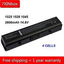 7 XINbox 4 cell 2600 V 14.8 mAh 0F965N G555N GW240 GP952 Bateria Do Portátil Para Dell Insprion 1440 1525 1526 1545 1546 1750 312-0625