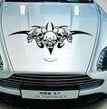 Авто череп череп наклейки прикреплены скелет личность крышка двигателя скелет автомобиля R-117