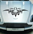 Auto skull skull car stickers affixed skeleton personality engine cover skeleton car R-117