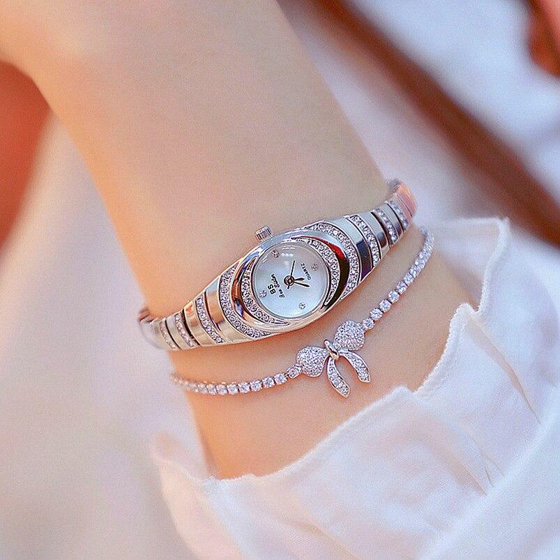 Belle mince bracelet en acier mode dames montre petit mignon simple décoratif bijoux femme montre-bracelet FA1540