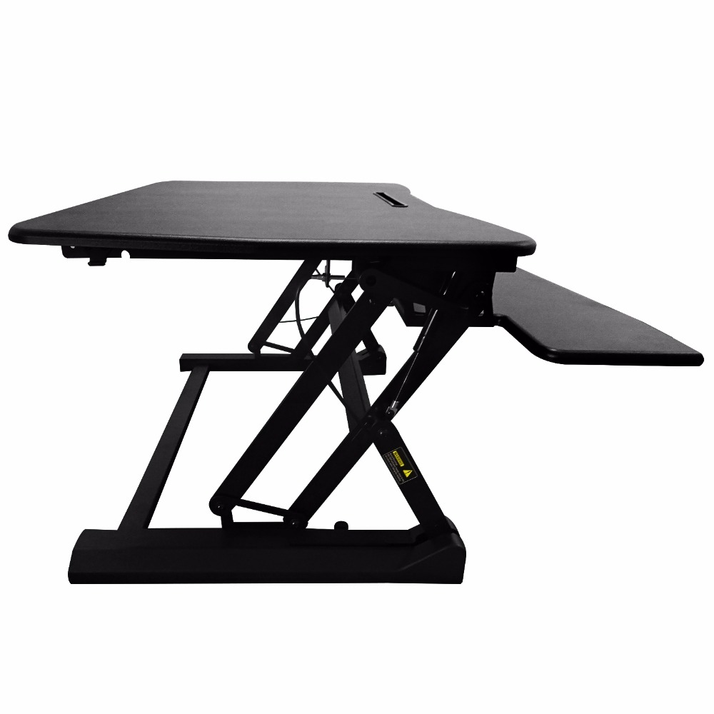 Shellhard 73X60CM Computer Desk Table Adjustable Height Stand Up Desk for Computer Office Laptop Workstation glass office table computer desk workstation with suspended cabinet and drawers office furniture hot sale