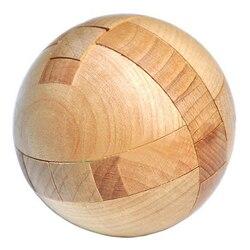 خشبية لغز ماجيك الكرة الدماغ المضايقون لعبة الاستخبارات لعبة المجال الألغاز للبالغين/أطفال