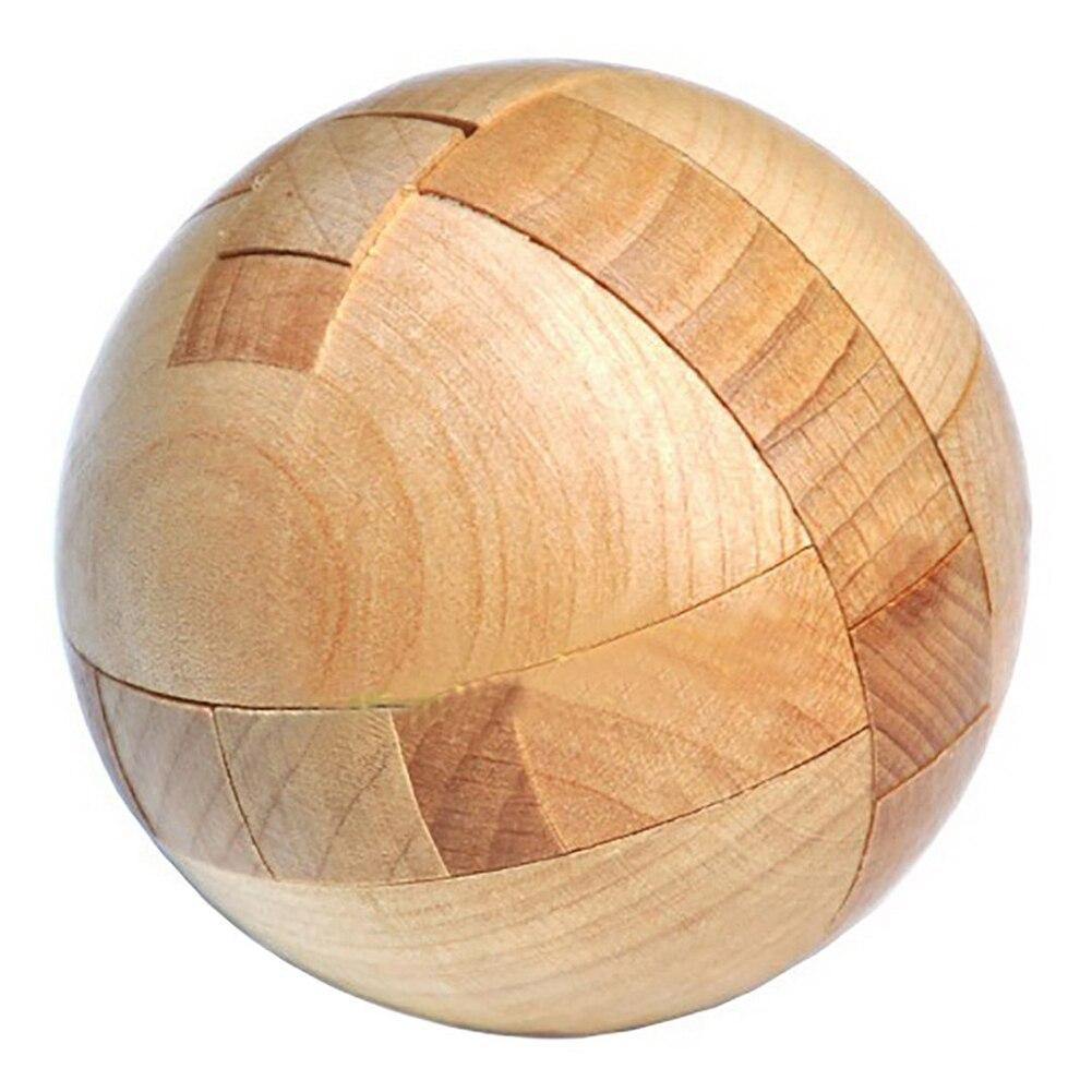 Rompecabezas de madera BOLA MÁGICA acertijos de juguete de inteligencia juego esfera rompecabezas para adultos/niños