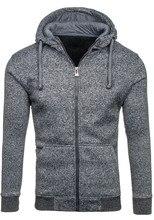 ZOGAA Clothing Hoodies Men Sweatshirt Male Pure Color Hooded Zipper Long Sleeve Outwear S-XXL