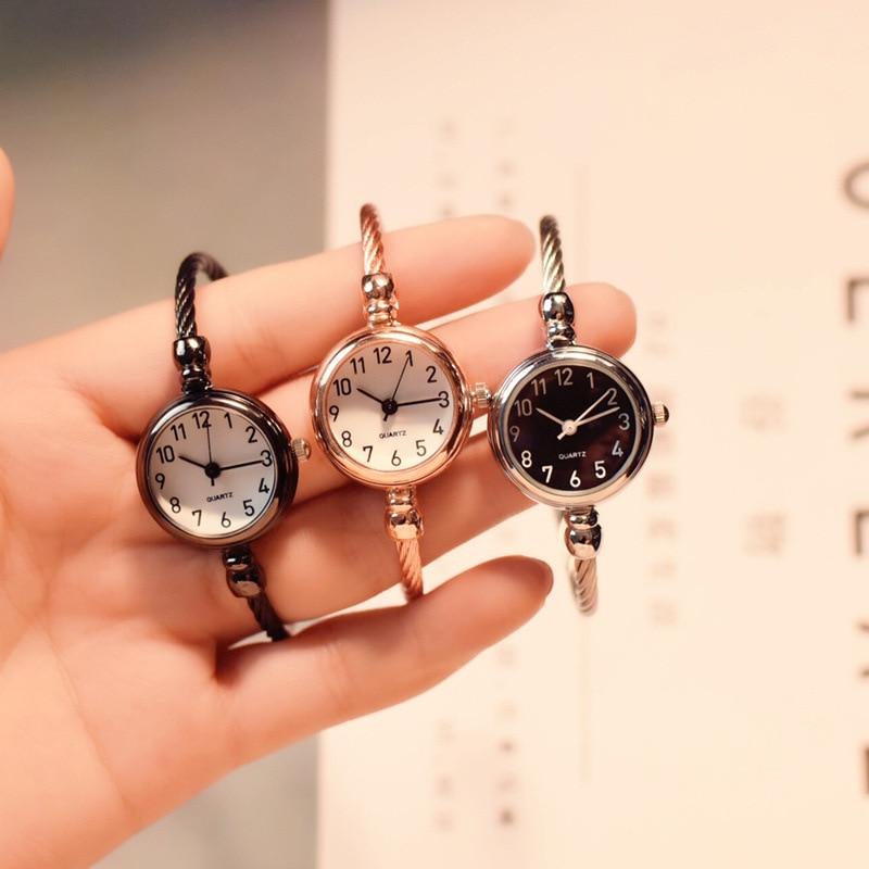 Women's Fashion Creative Bracelet Watch Vintage Elegant Designer Ladies Wrist Watches Simple Number Female Clock Drop Shipping