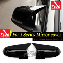 Replacement M-Style High-quality ABS Gloss Black Rear View Mirror Cover For BMW 1-Series F20 116d 118i 120i 125i 128i 135i 2012+