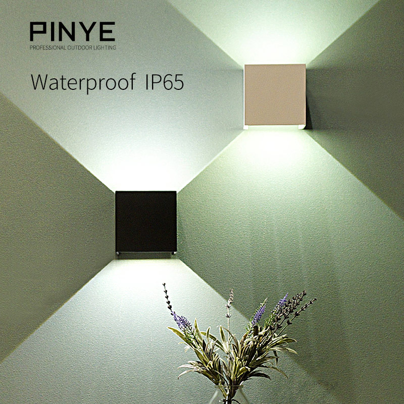 6W LED Wall Light Outdoor IP65 Waterproof  Modern Lighting Nordic Style Indoor Wall Lamps Living Room Porch Garden Light