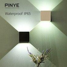 6 W светодиодный настенный светильник Открытый IP65 Водонепроницаемый современный освещение Nordic Стиль комнатные настенные лампы Гостиная крыльцо сад свет