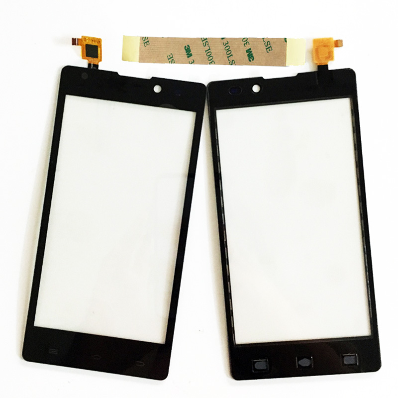 Black Touchscreen For Archos 50 Neon Touch Screen Digitizer Panel Front Glass Sensor Mobilephone Replacement Part