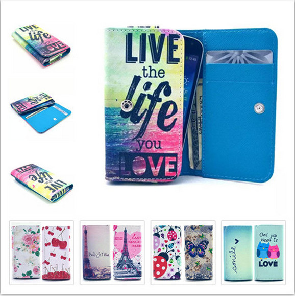 For Motorola Moto G LTE,XT1045,XT1039 Case Beautiful Painting Leather Phone Cases Peregrine With Card Wallet & Slot Back Cover3
