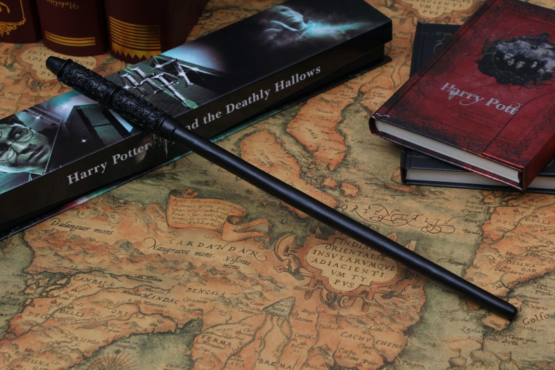 2017 High Quality Severus Snape Magic Wand With Gift Box Cosplay Game Prop Collection Harry Potter Toy Stick