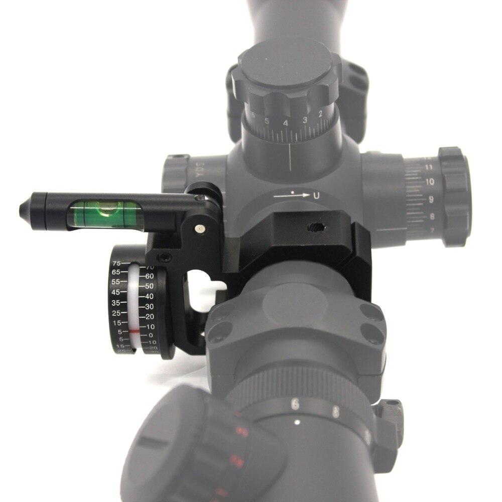 Melhor rifle bolha nível scope ângulo indicador