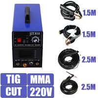 220V Singlel Voltage 3 In 1 Multifunction Tosense Welding Machine TIG ARC Welder Plasma Cutting CT312 With Free Accessory