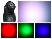 6pcs/Lot, LED Moving Head Wash 18x3w RGB Washing Light for disco dj club bar party stage equipment