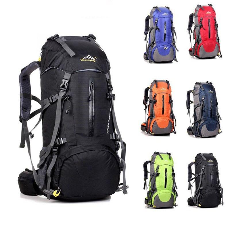 50L Mountain Bagpack Outdoor Bag Sport Backpack Bag Men Waterproof Bags Hiking Bagpacks Women Camping Rucksack