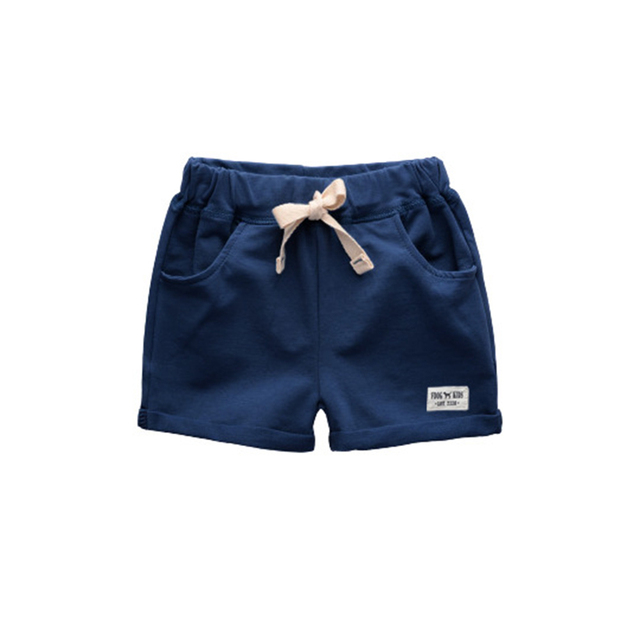 4865a3bcb85 Baby Boys Shorts Trousers 2018 Summer Kids Sports Shorts For Boy Children s  Cotton Beach Shorts Kids Boys Short Pants 2-6 Years