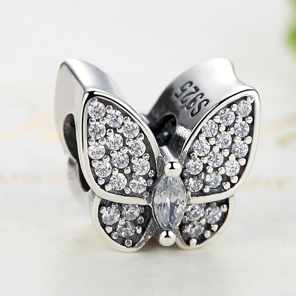 ELESHE Fit Original Pandora Charms Armband 925 Sterling Silver CZ - Märkessmycken - Foto 3