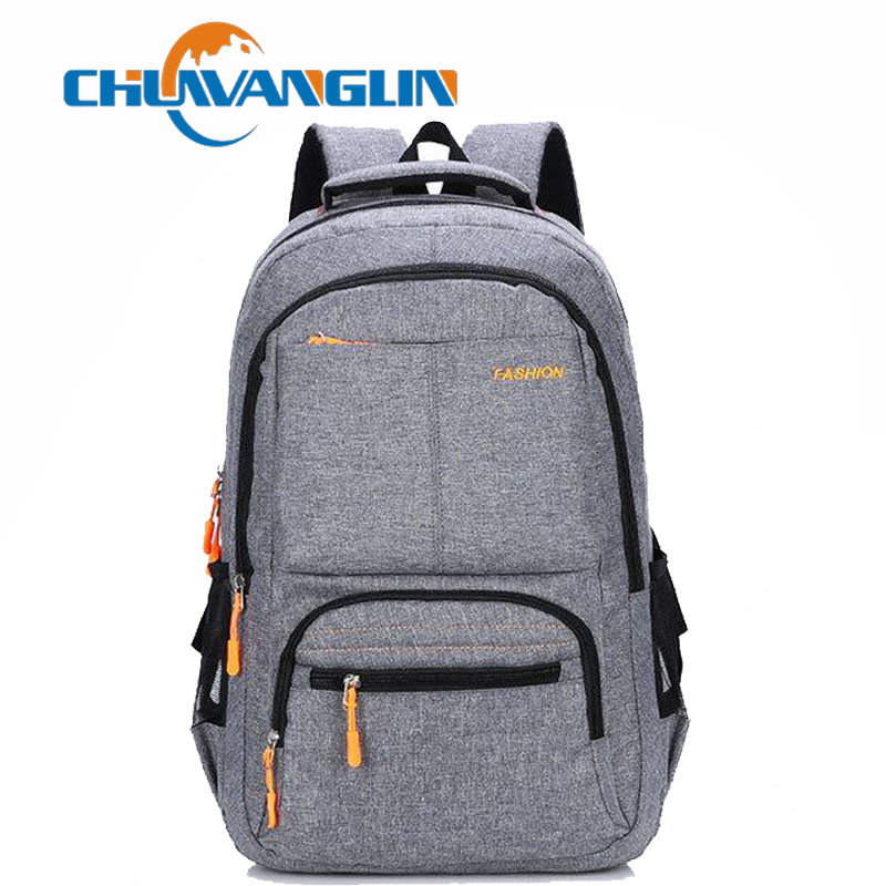 Chuwanglin Fashion Male Backpacks Business Laptop Backpack High Capacity School Bag Simple Versatile Travel Bags C011502