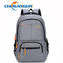 Chuwanglin Fashion male backpacks Business laptop backpack High capacity school bag Simple versatile travel bags C011502(China)