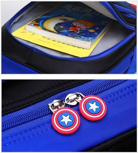 Image 4 - Childrens Backpack Boys Captain America School Bags For Boys Girls Children Primary Students Superhero Backpacks 4 Styles