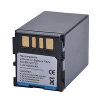 1 шт. 4200 мАч BN-VF733 BNVF733 BN VF733 Перезаряжаемые литий-ионный Батарея для JVC BN-VF733 BN-VF707U BN-VF714U BN-VF733U цифровой Камера