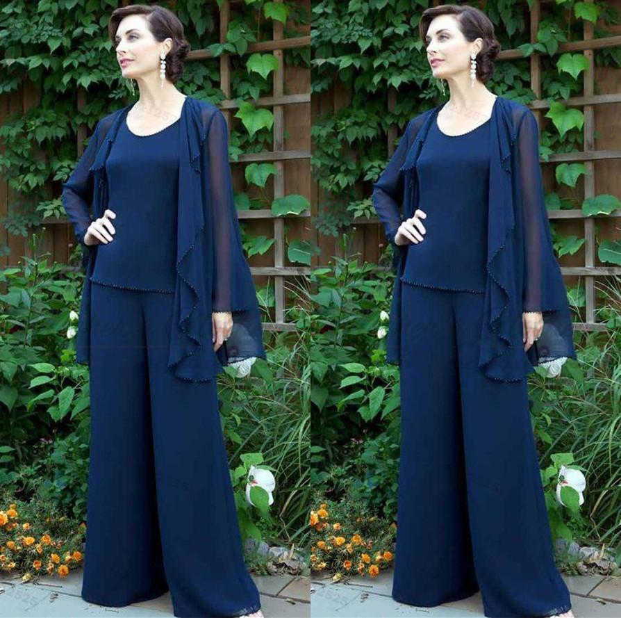 Dark Blue Beaded Evening Jackets for Women