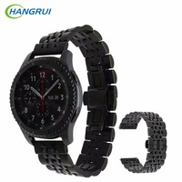 HANGRUI Stainless Steel Strap For Samsung Gear S3 Classic Frontier Smart Watch Band Wrist Strap Bracelet