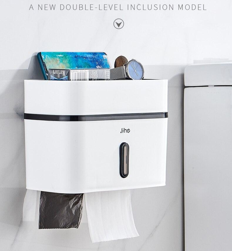 Simples dupla camada titular de papel higiênico