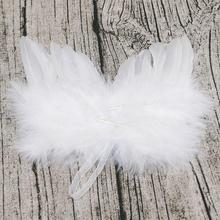 White Angel Feather Wings Christmas Tree Party Hanging Ornaments Fairy-tale DIY Party Decoration