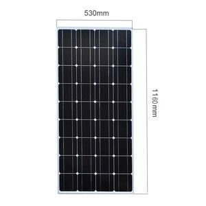 Image 4 - XINPUGUANG 2 sztuk 3 sztuk 4 sztuk panel słoneczny 100W 18V szklane panele słoneczne 200W 300W 400W panneau elastyczne bsolaire monokrystaliczne pokładzie